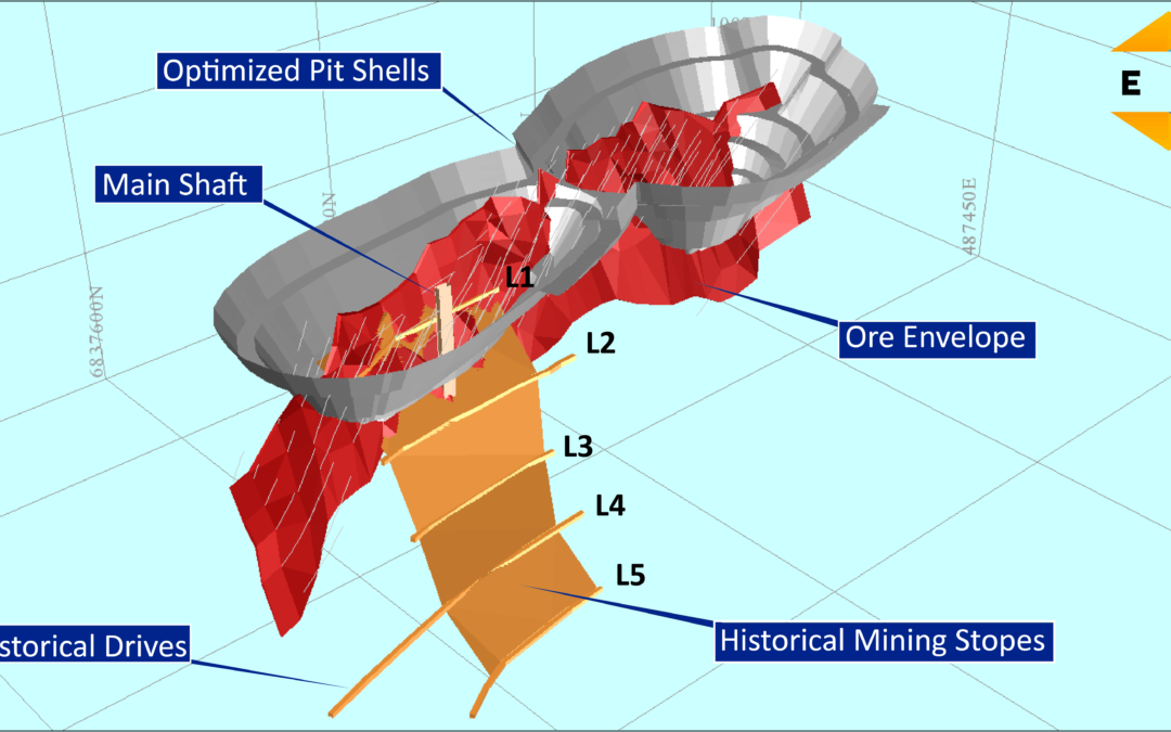 Main Vein at Gnows Nest Intersected at Depth – Drilling Update