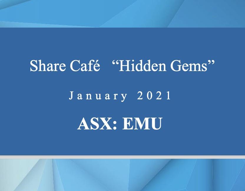 Share Cafe – Hidden Gems Presentation