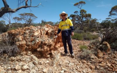 Emu at Menzies 8 Mile Dam, auger drilling underway looking for copper nickel gold and Platinum Group Metal